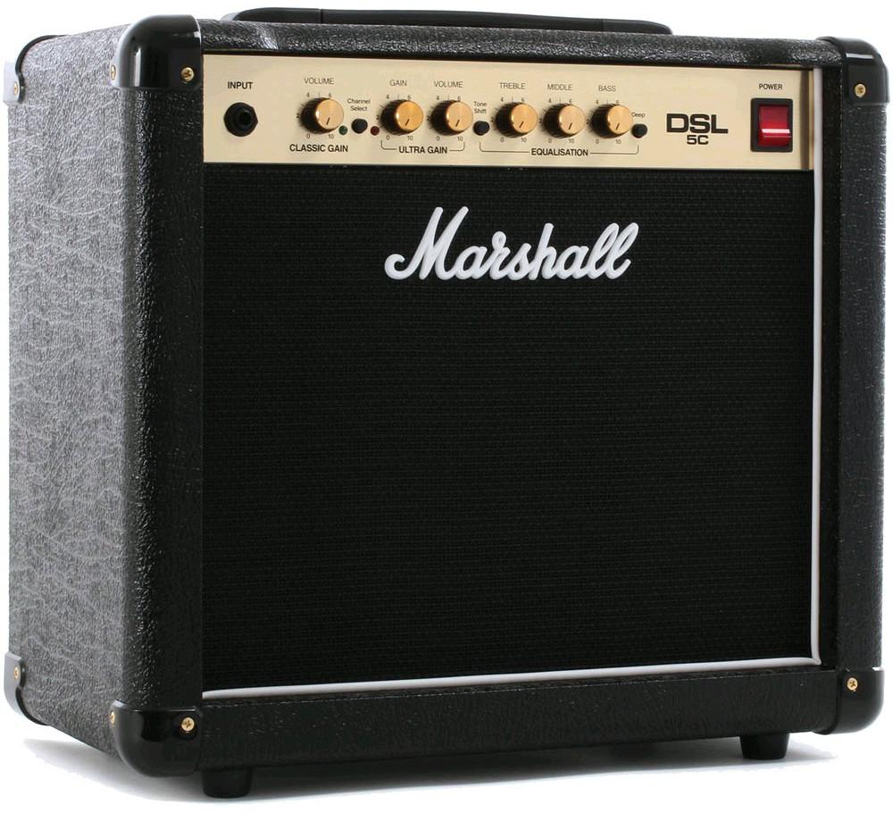 Комбо усилители MARSHALL DSL5C 5W COMBO