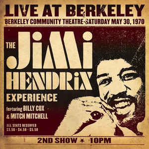 Jimi Hendrix LIVE AT BERKELEY (180 Gram) jimi hendrix jimi hendrix purple haze foxey lady 7