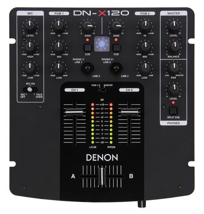 DJ-микшеры Denon DN-X120E2