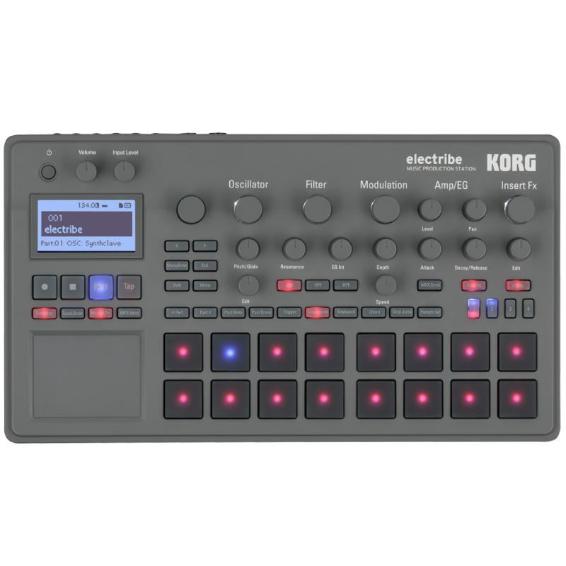 Грувбоксы и компактные синтезаторы KORG ELECTRIBE2 korg volca beats