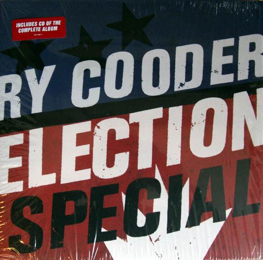 Виниловые пластинки Ry Cooder ELECTION SPECIAL (LP+CD) twentyears lp cd
