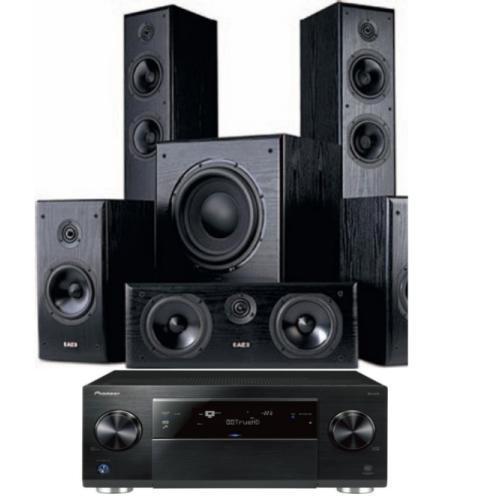 Aegis Neo Three V2 + Aegis Neo Centre V2 + Aegis Neo One V2 + Aegis Neo Sub V2 black ash + Pioneer SC-LX76 PULT.ru