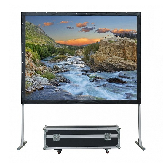 Экраны для проекторов Lumien Master Fold 361x628 см (275), (раб. область 343х610 см) Front Projection + Rear Projection LMF-100135 tfb3094as fmx43p004r flyback transformer for toshiba rear projection tv