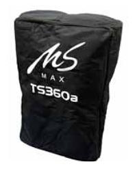 Кейсы и чехлы для акустики MS-MAX Bag TS360 - Сумка-чехол для TS360/TS360a ms max v12a