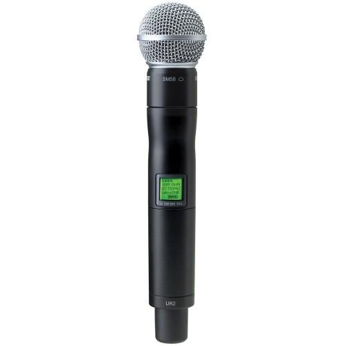 Микрофоны Shure UR2/58 J5E 578 - 638 MHz