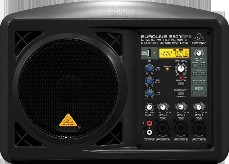 Концертные акустические системы Behringer B207MP3 behringer epa 900 europort