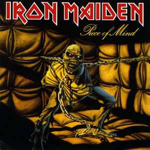 Виниловые пластинки Iron Maiden PIECE OF MIND (180 Gram) свитшот print bar iron maiden piece of mind