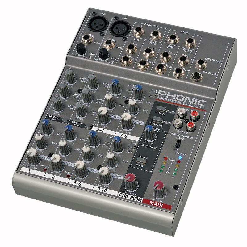 Микшерные пульты PHONIC AM 105 Fx