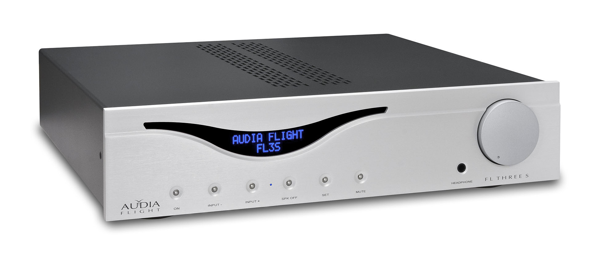 Интегральные стереоусилители Audia Flight Three S silver audia flight three s usb dac silver
