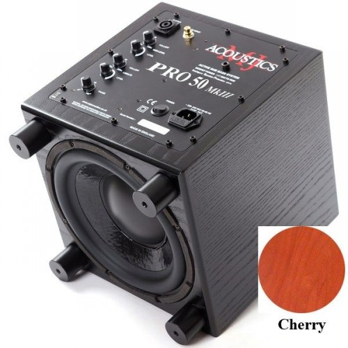 Сабвуферы MJ Acoustics Pro 50 Mk III cherry