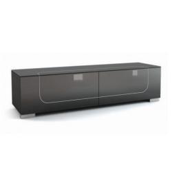 Подставки под телевизоры и Hi-Fi MD 509-1812 Planima черный/дымчатое стекло стойка metaldesign md 552 planima черный дымчатое стекло