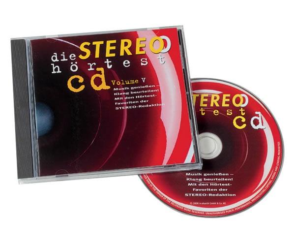Аксессуары In-Akustik CD Die Stereo Hortest CD Vol. V 0167924