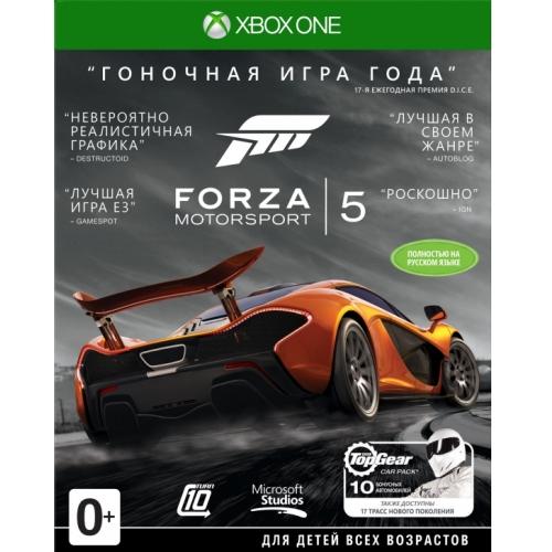 Игры для игровых приставок Microsoft Игра для Xbox One Forza 5 GOTY (PK2-00020) аксессуары для игровых приставок microsoft xbox one stereo adapter