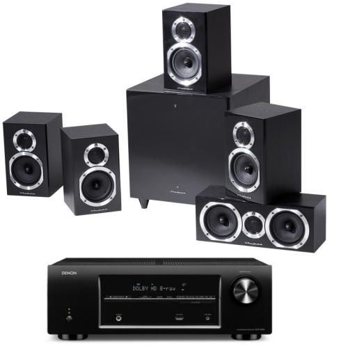 Diamond 10 surround+Diamond 10.0+Diamond 10 CC+Diamond 10 SX-Sub blackwood+Denon AVR-X500