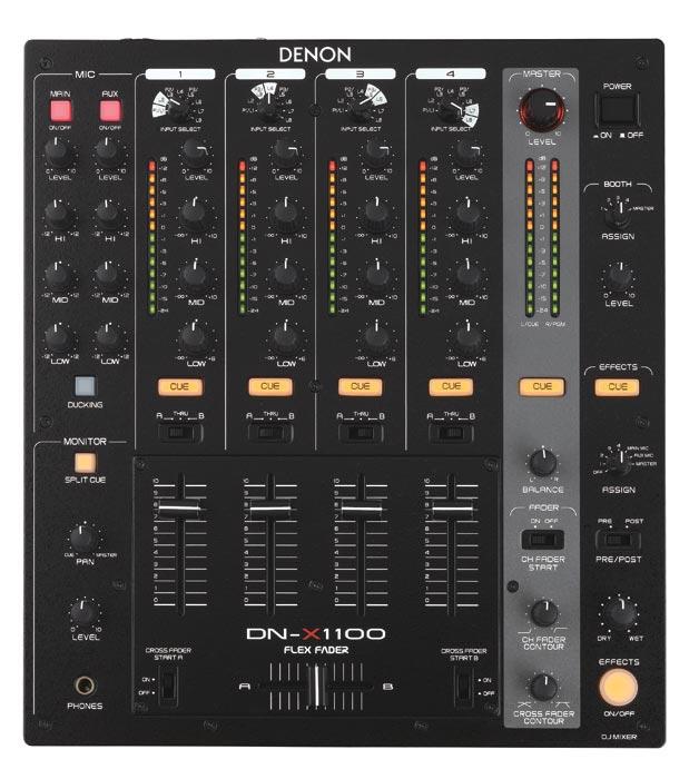 DJ-микшеры Denon DN-X1100E2