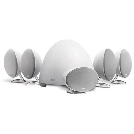 Комплекты акустики KEF E305 white комплекты акустики kef t105 system black