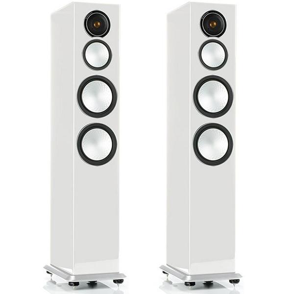 Monitor Audio Silver 8 high gloss white