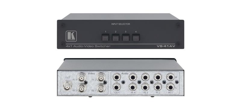 Оборудование для аудио/видео коммутации Kramer VS-41AV