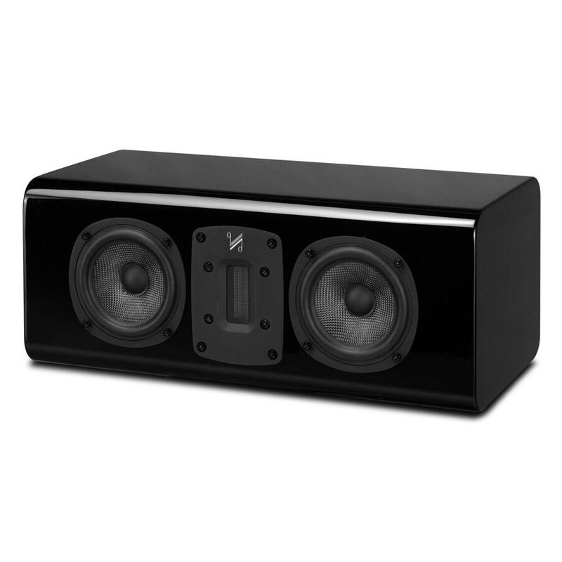 Акустика центрального канала Quad S-C piano black акустика центрального канала paradigm studio cc 490 v 5 piano black