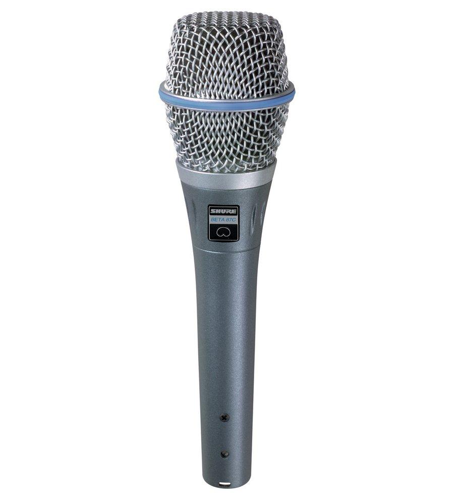 Микрофоны Shure BETA 87C shure beta 87a суперкардиоидный конденсаторный вокальный микрофон grey