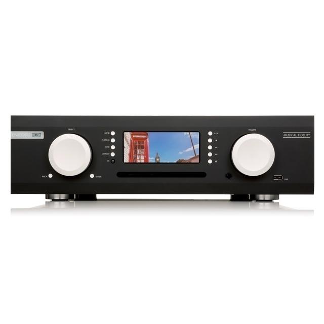 Сетевые аудио проигрыватели Musical Fidelity M6 Encore Connect black сетевой аудио плеер sonos connect amp