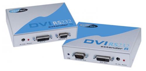 Мультирум контроллеры и усилители Gefen EXT-DVIRS232-CAT5N