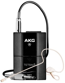 Приёмник и передатчик для радиосистемы AKG DPT TETRAD
