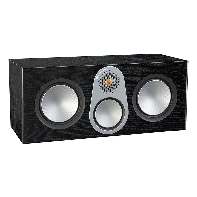 Акустика центрального канала Monitor Audio Silver C350 black oak акустика центрального канала vienna acoustics theatro piano black