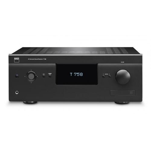 AV ресиверы NAD T 758 black ресивер nad 705 цена