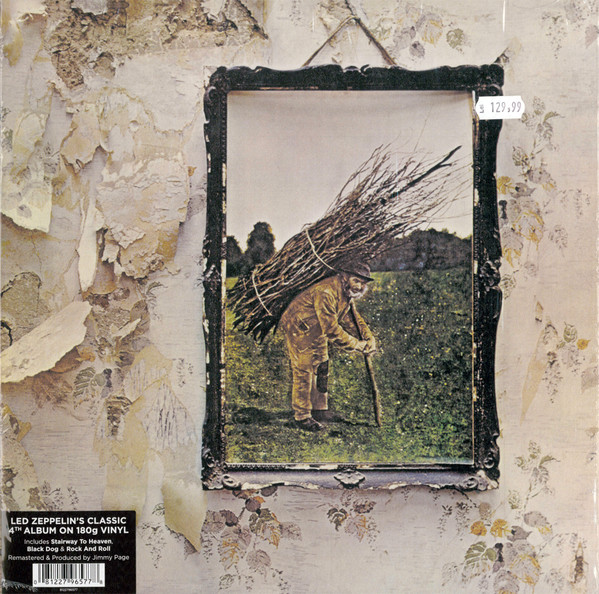 Виниловые пластинки Led Zeppelin LED ZEPPELIN IV (Remastered/180 Gram) led zeppelin led zeppelin original recording remastered 3