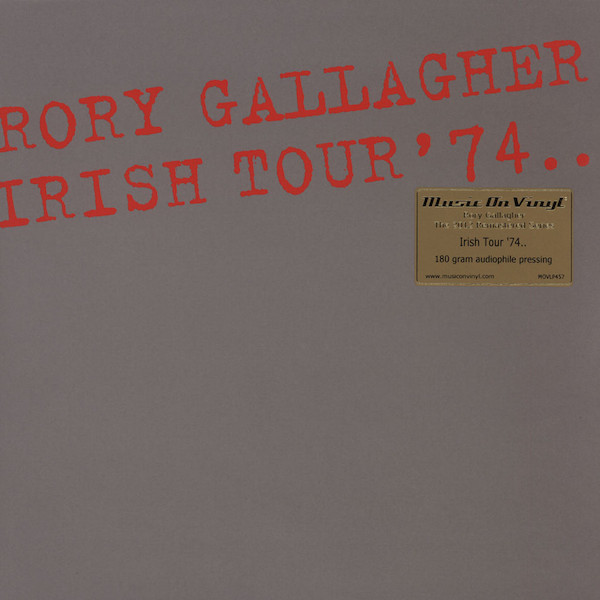 Виниловые пластинки Rory Gallagher IRISH TOUR '74 (180 Gram/Remastered)