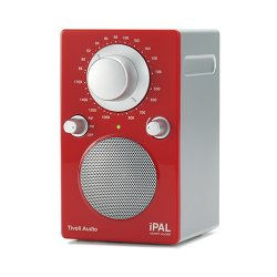Радиоприемники Tivoli Audio iPAL High Gloss Red/Silver (PALIPALR)