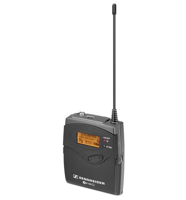 Приёмник и передатчик для радиосистемы Sennheiser, арт: 127763 - Приёмник и передатчик для радиосистемы