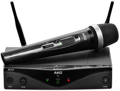 Радиосистемы AKG WMS420 Vocal Set Band U2 (614-629)