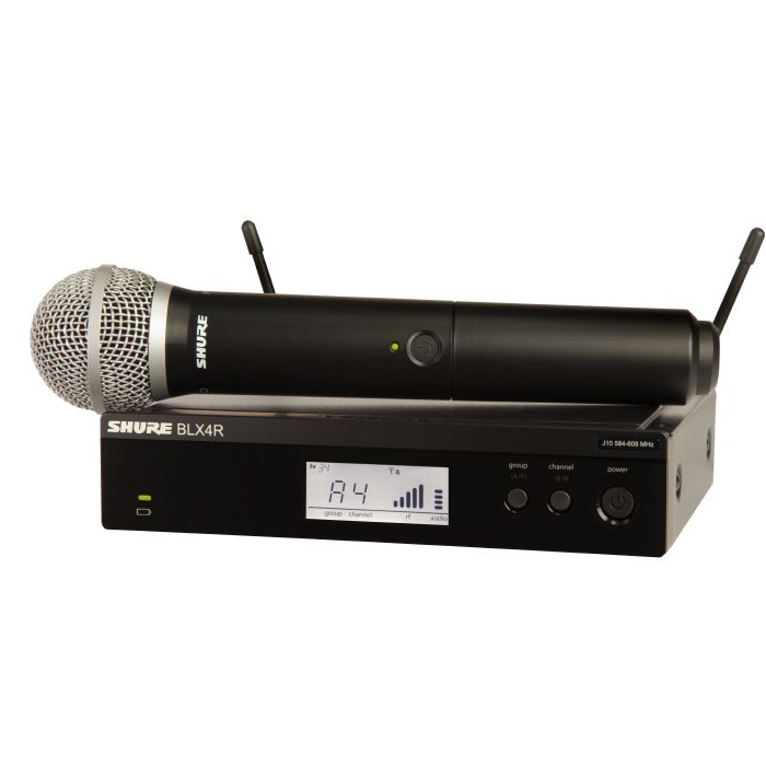 Радиосистемы Shure BLX24RE/SM58 M17 662-686 MHz shure blx288e pg58 m17
