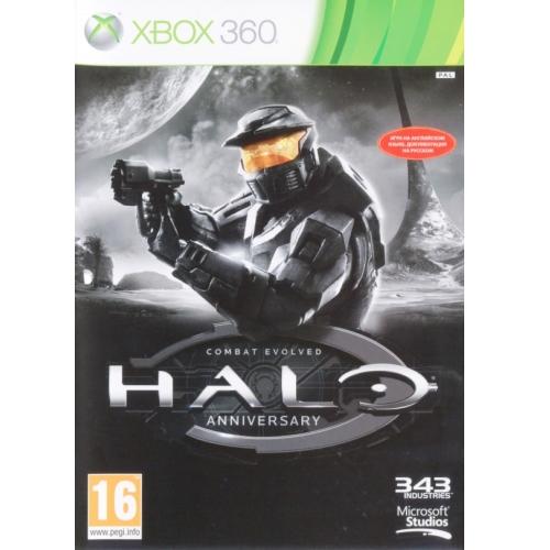 Игры для игровых приставок Microsoft Игра для Xbox360 Halo Anniversary
