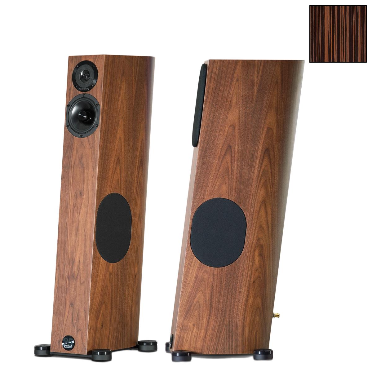 Напольная акустика Audio Physic Tempo 25 (Macassar Ebony) акустика центрального канала piega classic center large macassar high gloss