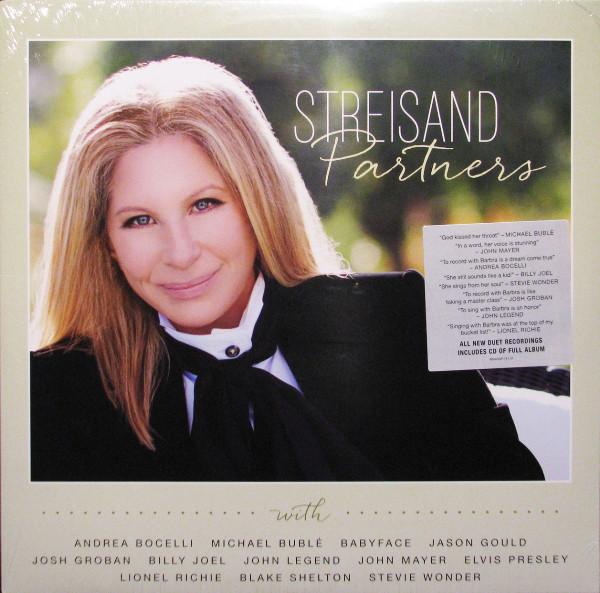 Виниловые пластинки Barbra Streisand PARTNERS (2LP+CD/W460)