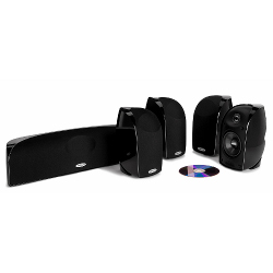 Комплекты акустики Polk Audio TL350 black акустика центрального канала polk audio tl3 center black