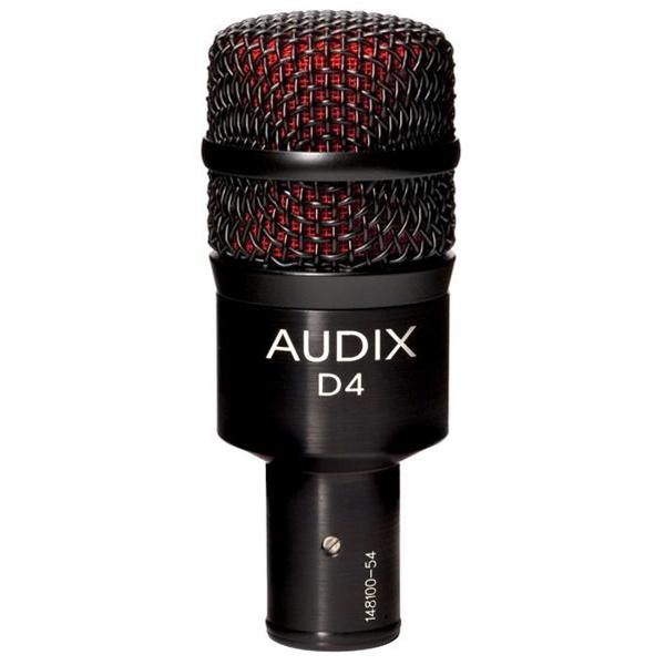 Микрофоны AUDIX D4 audix d4