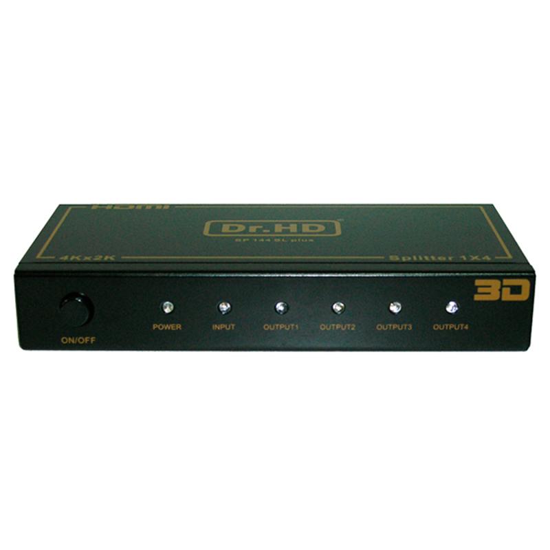 HDMI коммутаторы, разветвители, повторители Dr.HD HDMI делитель 1x4 / Dr.HD SP 144 SL Plus