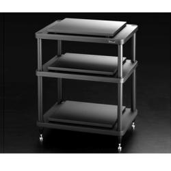 Подставки под телевизоры и Hi-Fi Solidsteel S5-3 black стойки под акустику solidsteel ns 6 black
