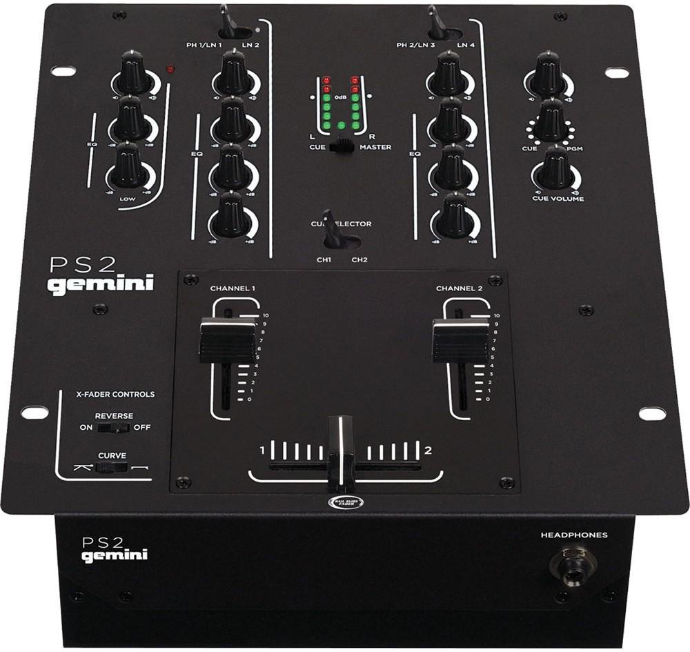 DJ-микшеры Gemini PS2 DJ