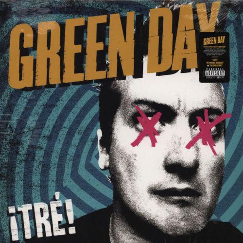 Виниловые пластинки Green Day TRE!