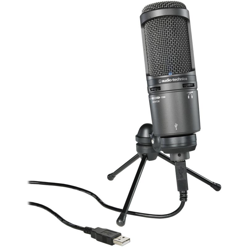Микрофоны Audio Technica AT2020USB+