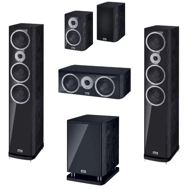 Комплекты акустики Heco Music Style 900 + 200 + Center 2 + Sub 25A акустика центрального канала heco music style center 2 piano white ash decor white