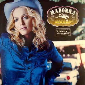 Виниловые пластинки Madonna MUSIC