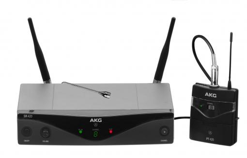 Приёмник и передатчик для радиосистемы AKG WMS420 Presenter Set Band D