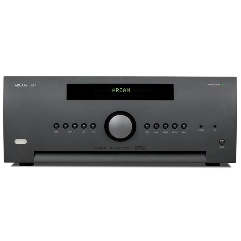 AV ресиверы Arcam FMJ AVR550 black интегральные стереоусилители arcam fmj a29 black