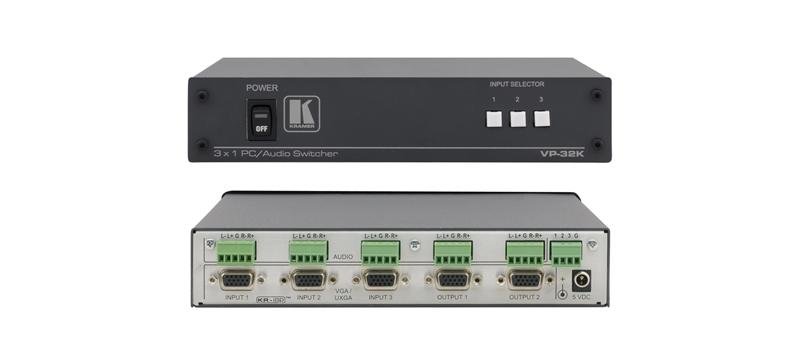 Оборудование для аудио/видео коммутации Kramer VP-32K